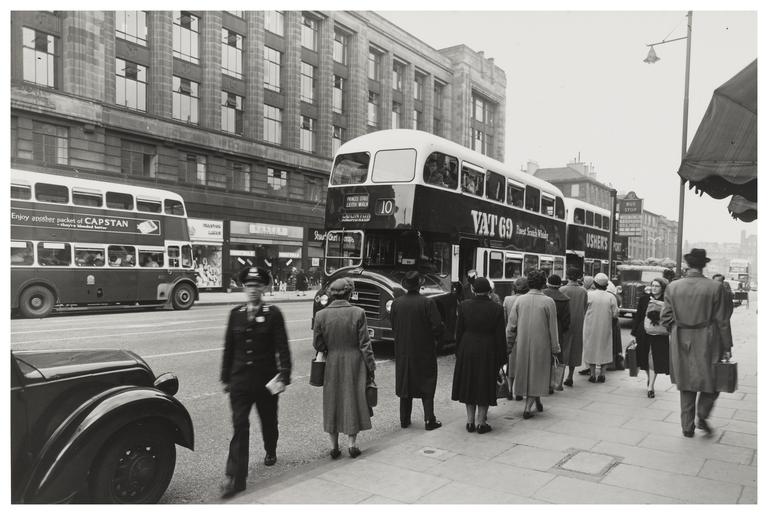 Corporation Buses Lothian Road