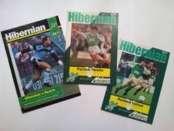 Hibernian F. C. programmes