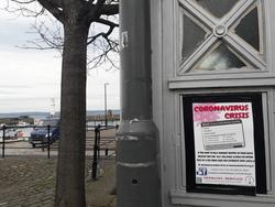 Coronavirus Crisis poster, Newhaven