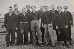 German POWS from The Camp at Sighthill