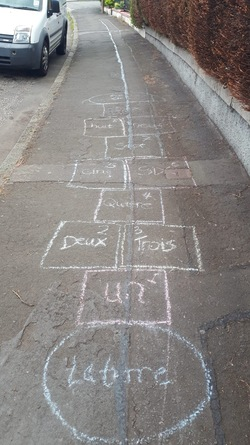 Educational hopscotch