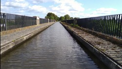 Man-Made Water Channel. Avon Aqueduct