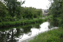 A Man-Made  Water Channel. Union Canal