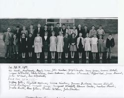 Murrayburn Primary School - Mr Meek's Class of 1954