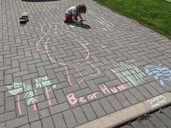 Chalk bear Hunt
