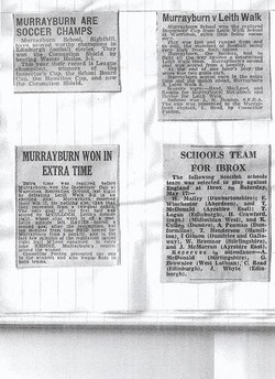 Murrayburn Primary School Football Team 1954