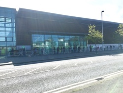 Queuing for Asda during lockdown (pic 2)
