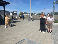 Queuing for Asda during lockdown - when the first restrictions lifted (pic 2)