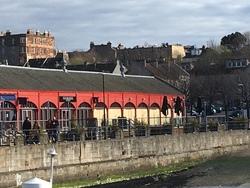 Loch Fyne restaurant boarded up during coronavirus lockdown