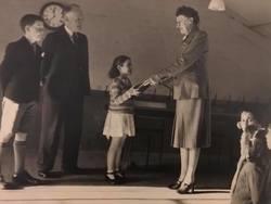 Murrayburn Primary School -Miss Gardeners Retiral Presentation circa 1949