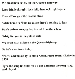 Murrayburn Primary School - Road Safety Classes circa 1960 (Part Two)