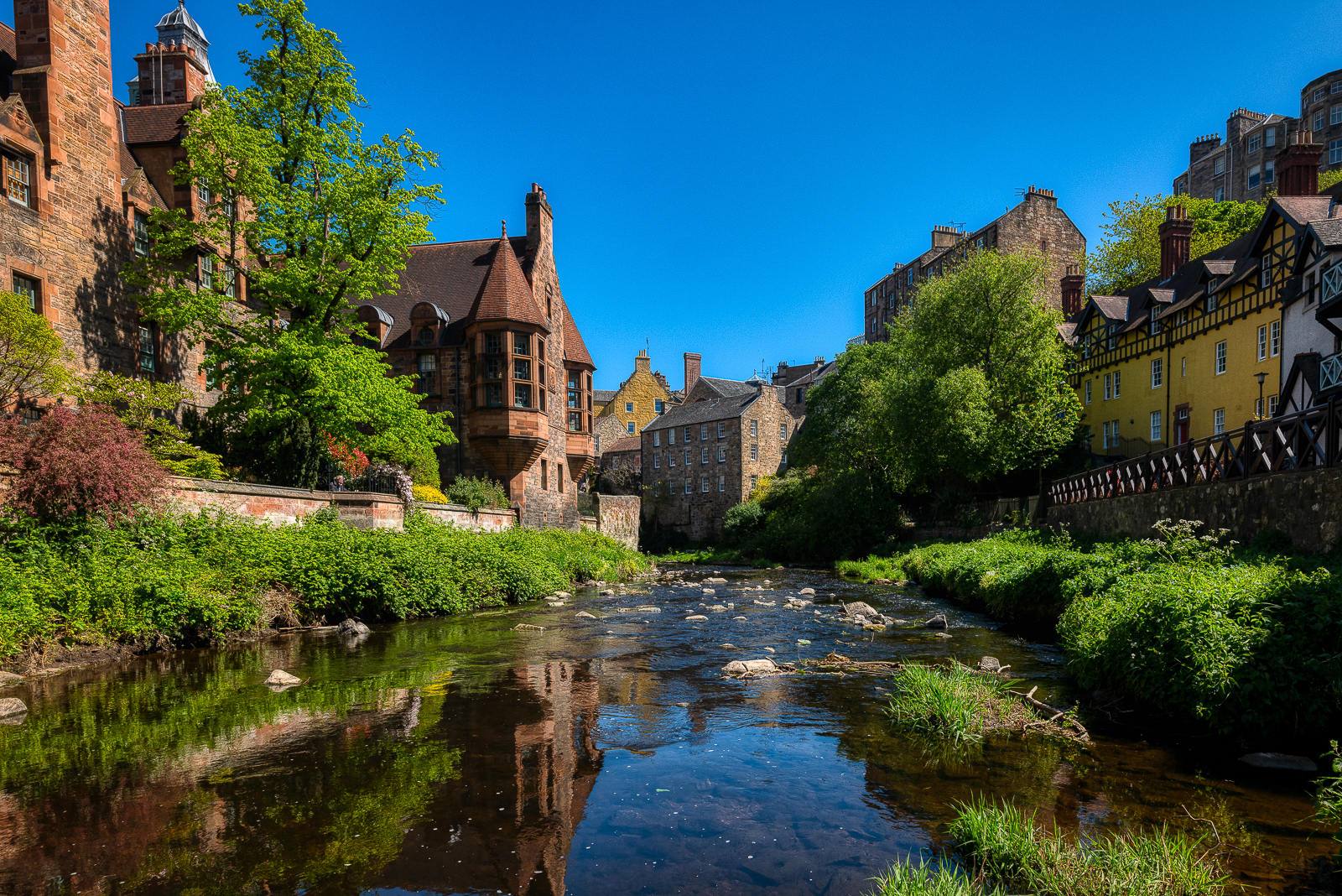 Water of Leith, Dean Village