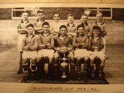 Murrayburn Primary School  Football Team Schoolboard Cup Winners 1953/4