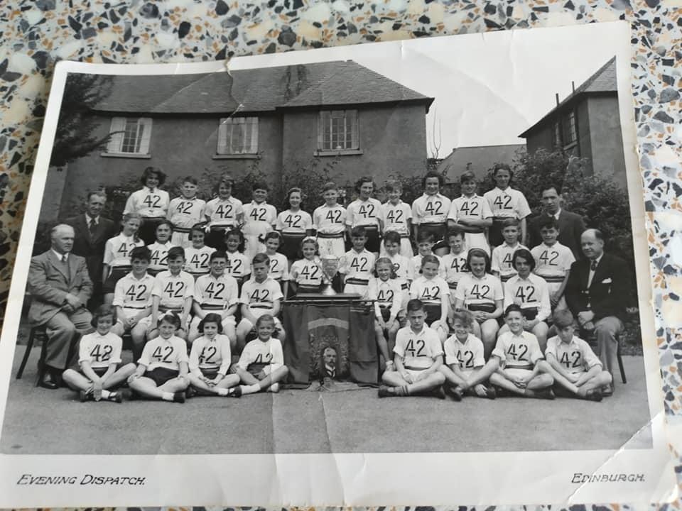 Murrayburn Primary School Interscholastic Team 1954