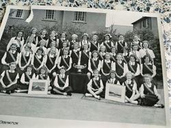 Murrayburn Primary School-Netball and Overheadball Teams 1954.