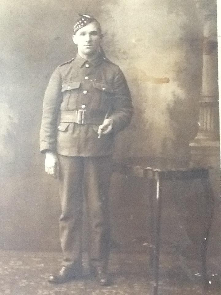 Archibald Hamilton Private 1324 Royal Scots 7th Battalion