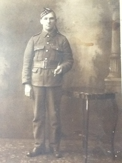 Archibald Hamilton Private 1324 Royal Scots 7th Battalion