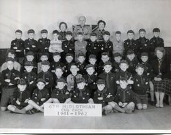 The 6th Midlothian Cub Pack 1961 - 1962