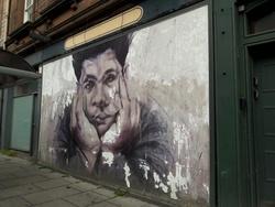 Mural of Eduardo Paolozzi