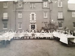Coronation Street Party on Parkhead Grove 1953
