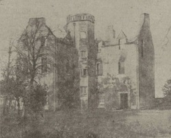 Saughton House off the Old Calder Road after the fire.(Picture 3)