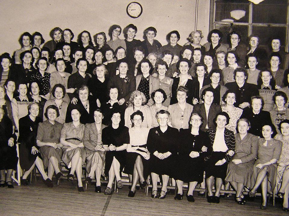 St Nicholas Church Womans Guild circa 1956/7