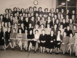 St Nicholas Church Womans Guild circa 1956/7