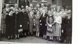 Parkhead and Sighthill Pensioners Outing circa 1960s