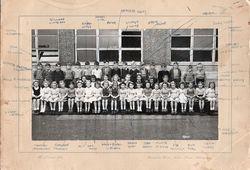 Murrayburn Primary School-Class of 1948/9 Teacher Unknown.