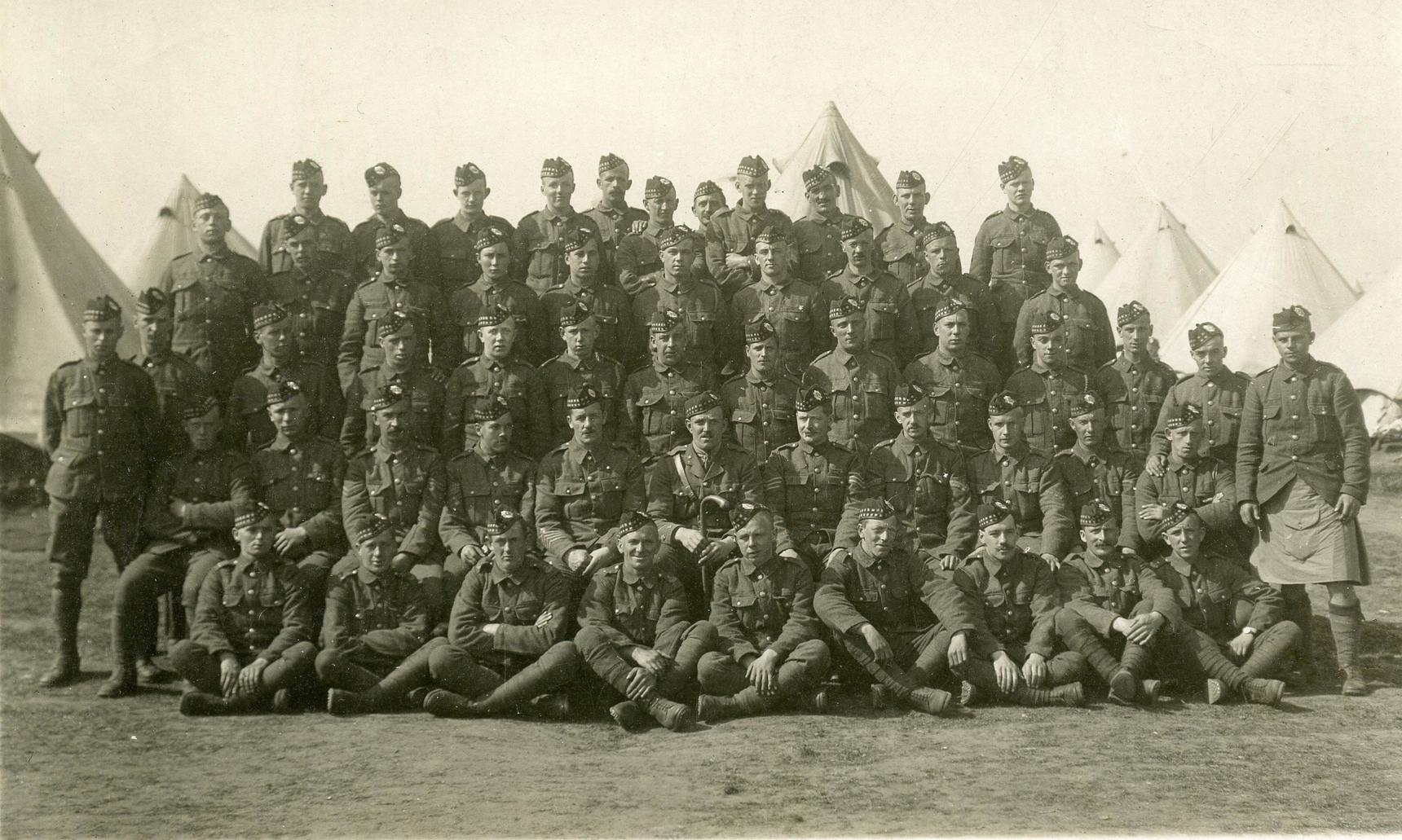 Musselburgh Company 7th Battalion Royal Scots