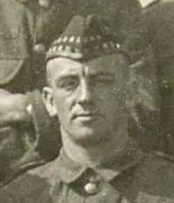 Archibald Hamilton Private 1324 7th Battalion Royal Scots