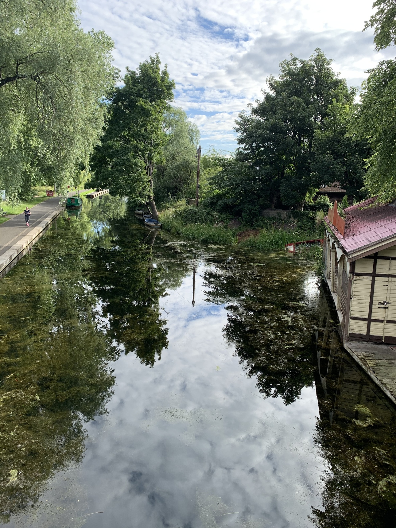 Canal during lockdown