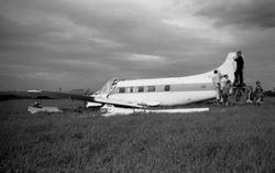 Air Crash near Sighthill on 29th May 1962
