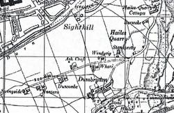 Farms at Sighthill in 1945