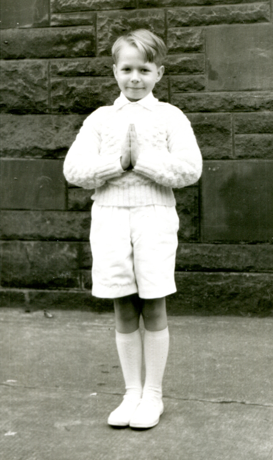Boy On His Confirmation Day c.1958