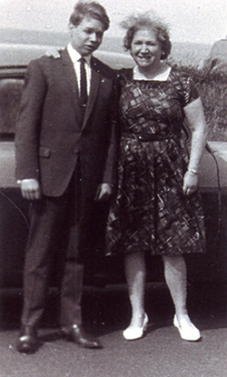 Mother And Son On Day Out c.1967