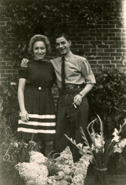 Peacetime Courting Couple c.1947