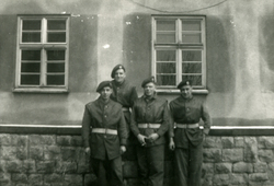 Group Of Four RAF Regiment Servicemen c.1946