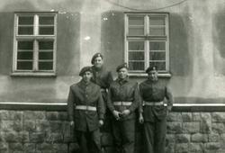Group Of Four RAF Regiment Servicemen c.1946