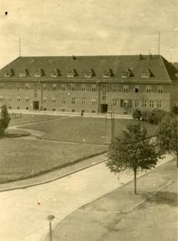 Unidentified Building In Bad Lippspringe c.1946