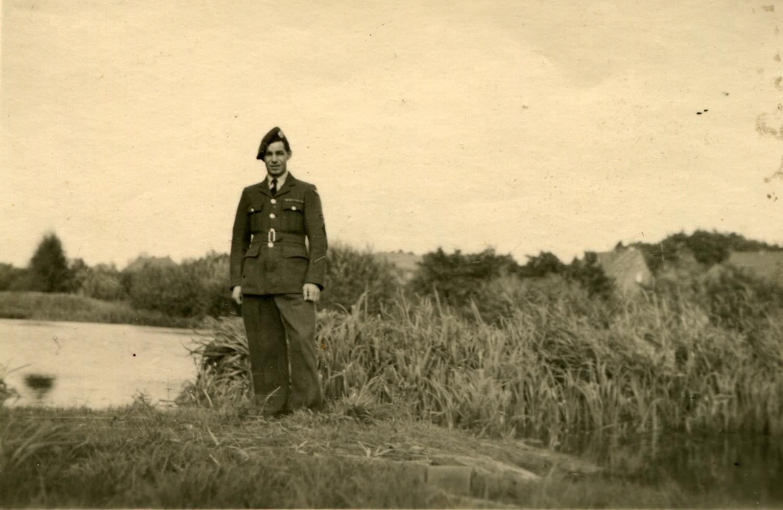 RAF Regiment Serviceman Off Duty c.1946