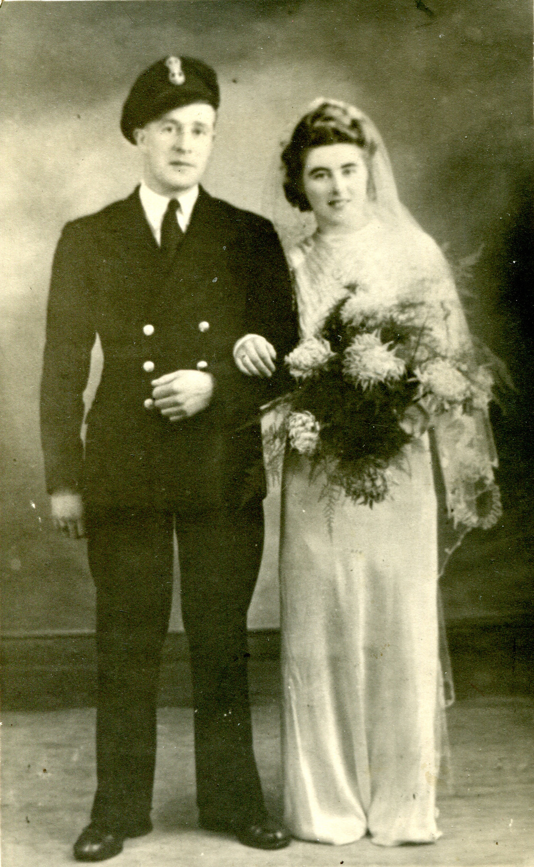 Wartime Married Couple c.1943