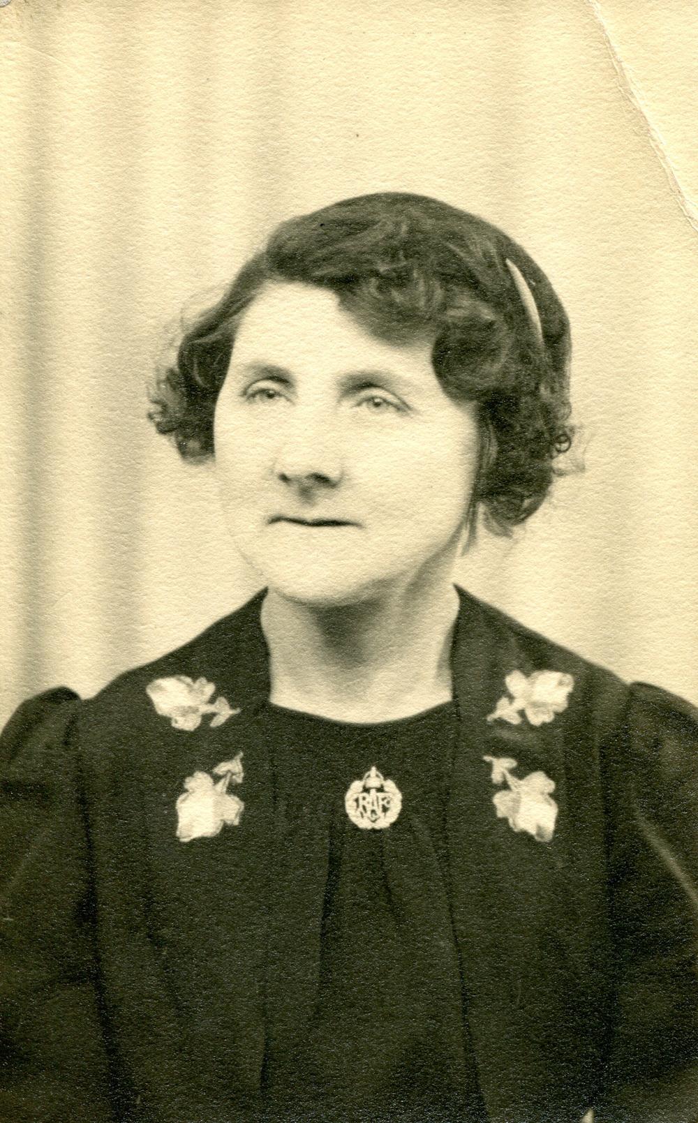 Studio Portrait Of Woman, 20th April 1942