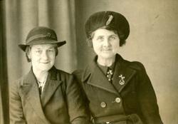 Studio Portrait Two Women c.1943