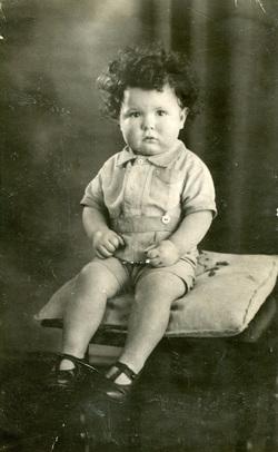 Studio Portrait Young Boy c.1947