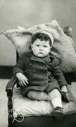 Studio Portrait Young Boy, 19th April 1948