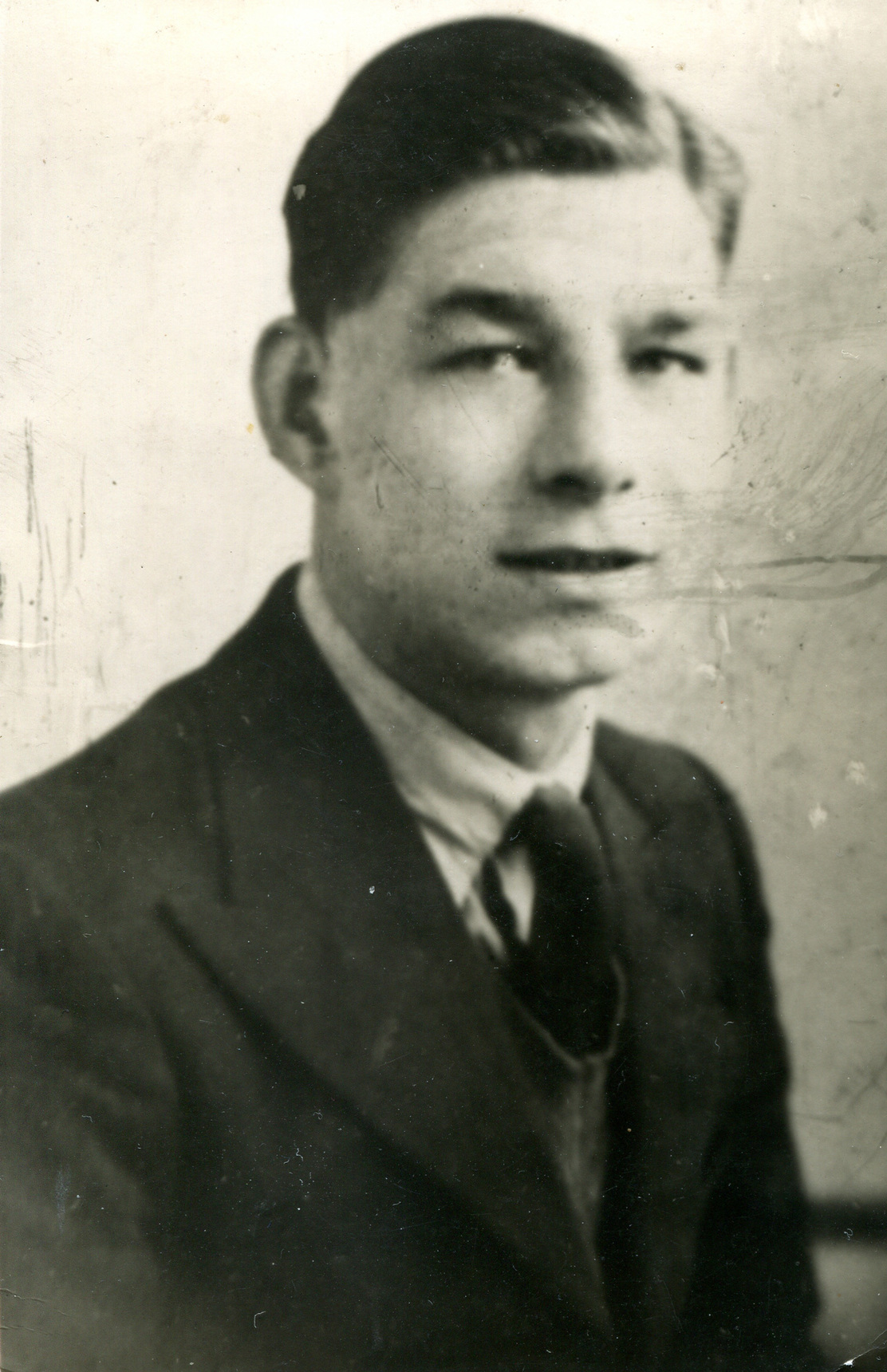 Studio Portrait Young Man c.1938