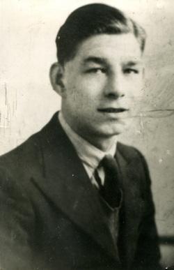 Studio Portrait Young Man c.1938