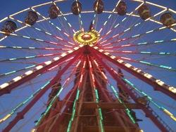 Big Wheel. Princes Street Gardens.