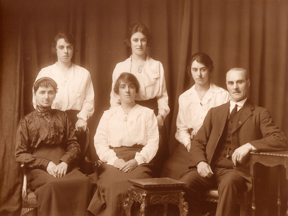 Studio Family Portrait c.1920